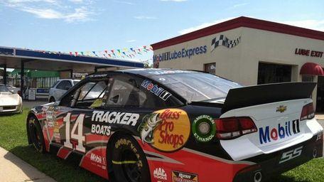NASCAR star Tony Stewart's retired Chevy SS car