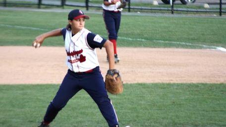 Kristen Moldovan, who plays on the Massapequa 13-14