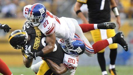 Pittsburgh Steelers running back LaRod Stephens-Howling (34) is