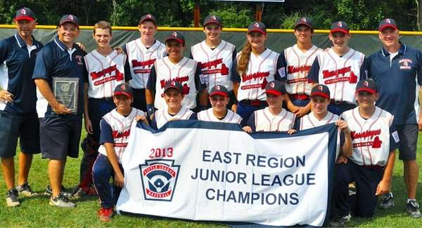 Massapequa International League 2013 East Region Junior League