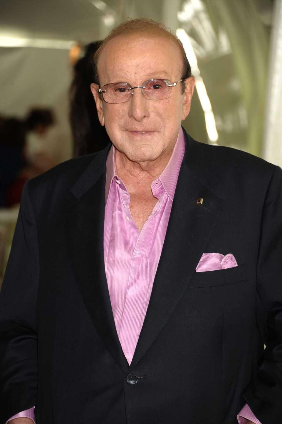 Clive Davis, founder of Arista Records, at the