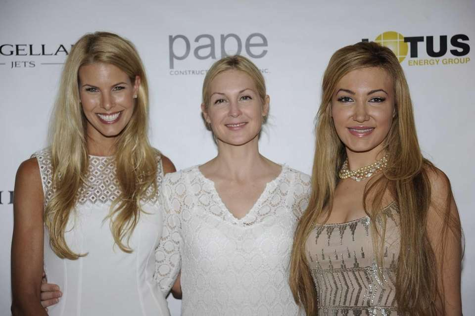 From left Beth Ostorsky, Kelly Rutherford and Devorah