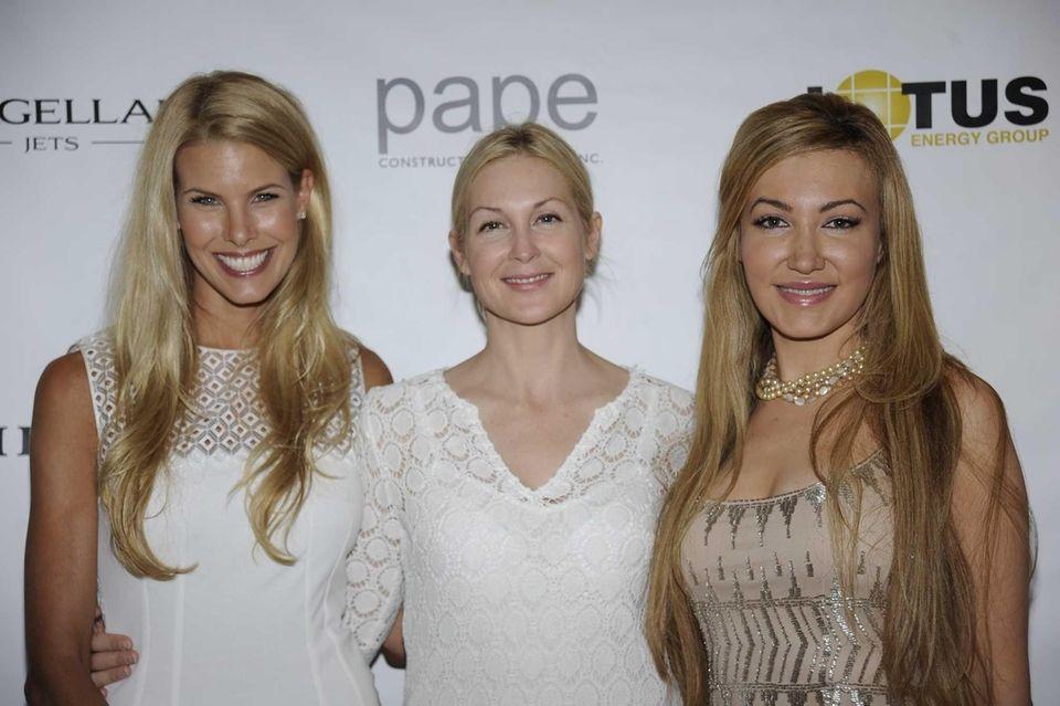 From left Beth Ostorsky, Kelly Rutherford and Devorah