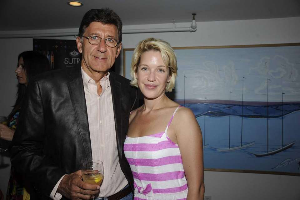 Roman Klinger and Anna Timone attend