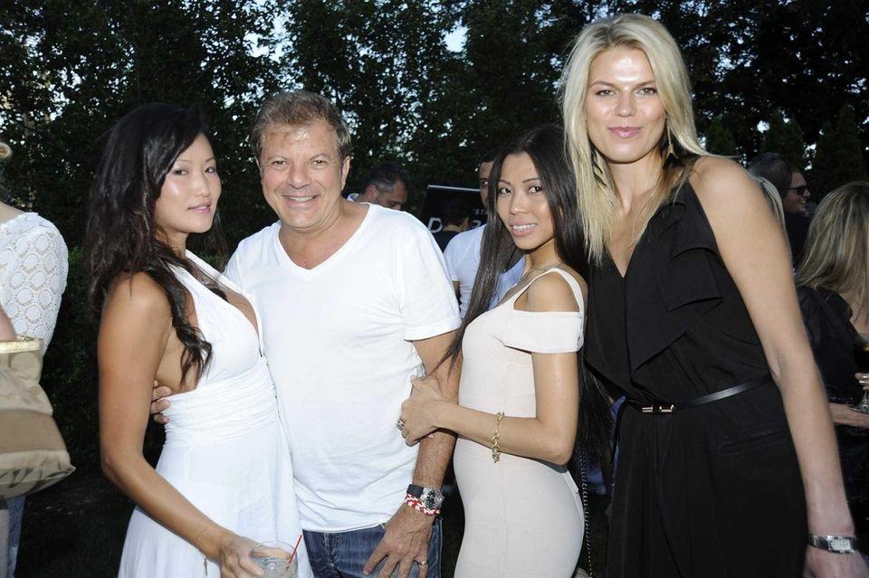 From left, Susan Kim, Rocco Ancaroala, Yoke Tan