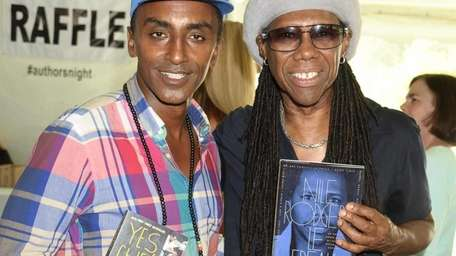 Musician Nile Rodgers attends the East Hampton Library's
