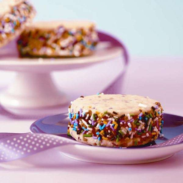 The Birthday Cake Ice Cream Sandwich recipe can