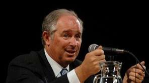 Stephen A. Schwarzman, chairman and chief executive of