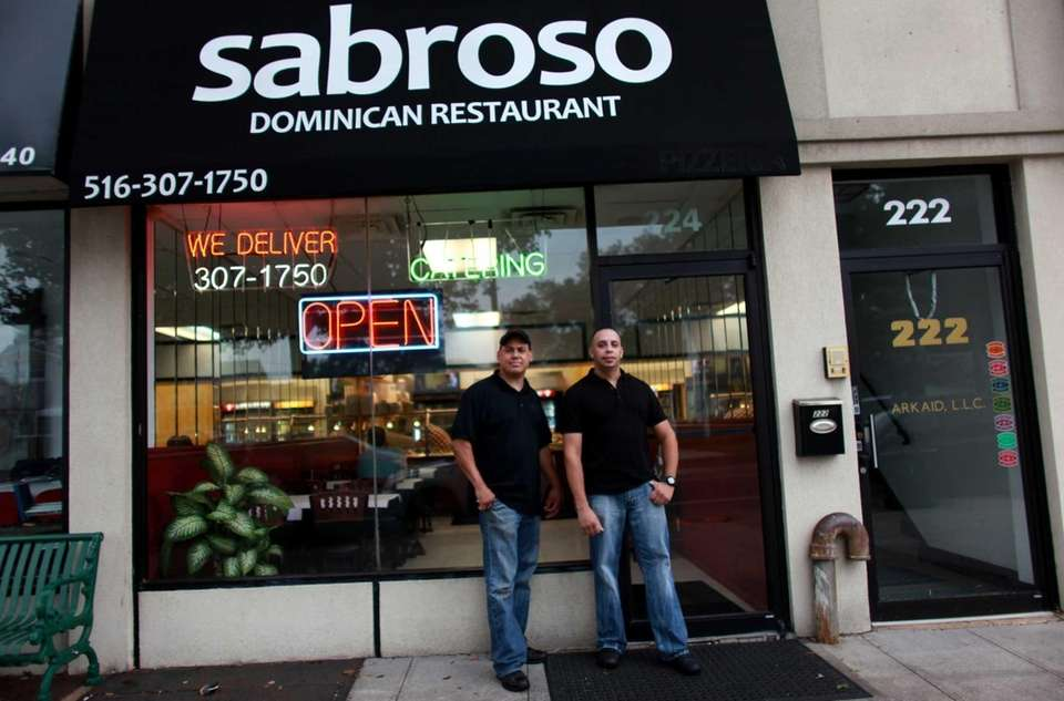 Co-owners Santiago Nunez and Omar Polanco of Sabroso