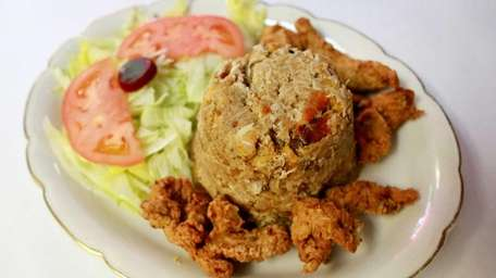 The chicken mofungo is a customer favorite at
