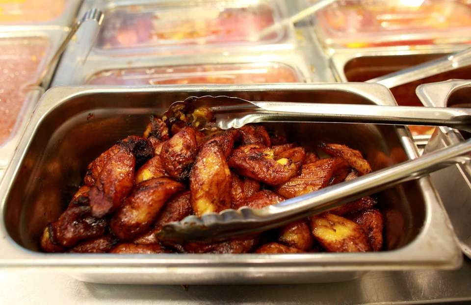 The plantains are addictive at Sabroso restaurant in