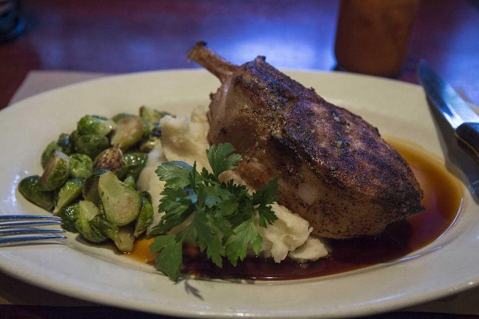 Morrison's restaurant in Plainview serves a double cut
