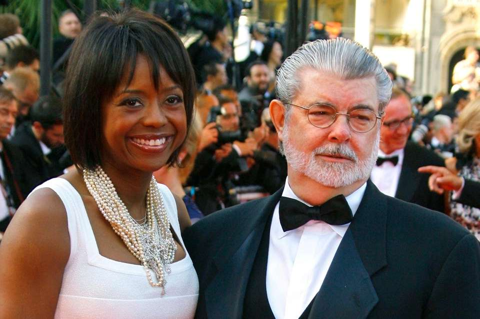 Parents: George Lucas and Mellody Hobson Child: Everest,