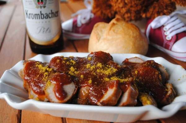 The Currywurst Company, now closed, brought a popular