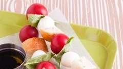 The Deconstructed Caprese recipe can be found in