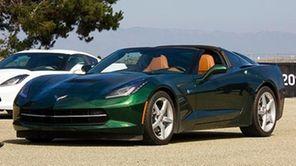 The 2014 Chevrolet Corvette Stingray comes in two