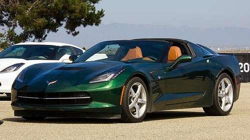 The 2014 Chevrolet Corvette Stingray comes in two