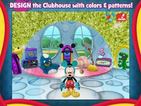 The Mickey Mouse Clubhouse Paint & Play iPad