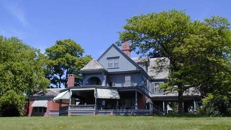 Theodore Roosevelt's Sagamore Hill home in Oyster Bay