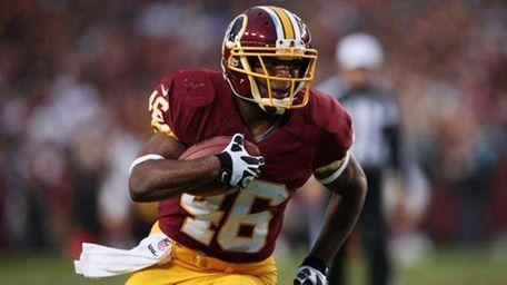 Alfred Morris #46 of the Washington Redskins