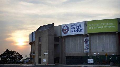 The Nassau Veterans Memorial Coliseum in Uniondale. (Aug.