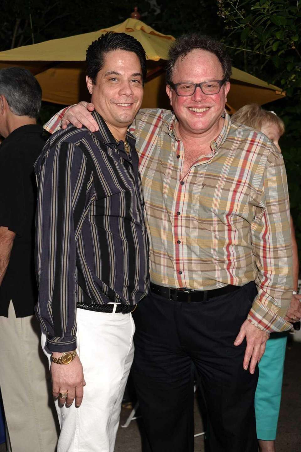Doug Petri and Bruce T.Sloane attend