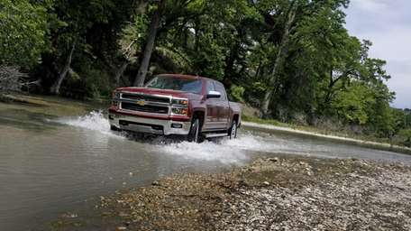 Prices for the 2014 Chevrolet Silverado start at