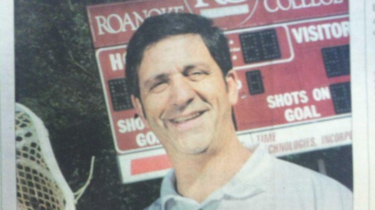 John Pirro, a Long Island high school lacrosse