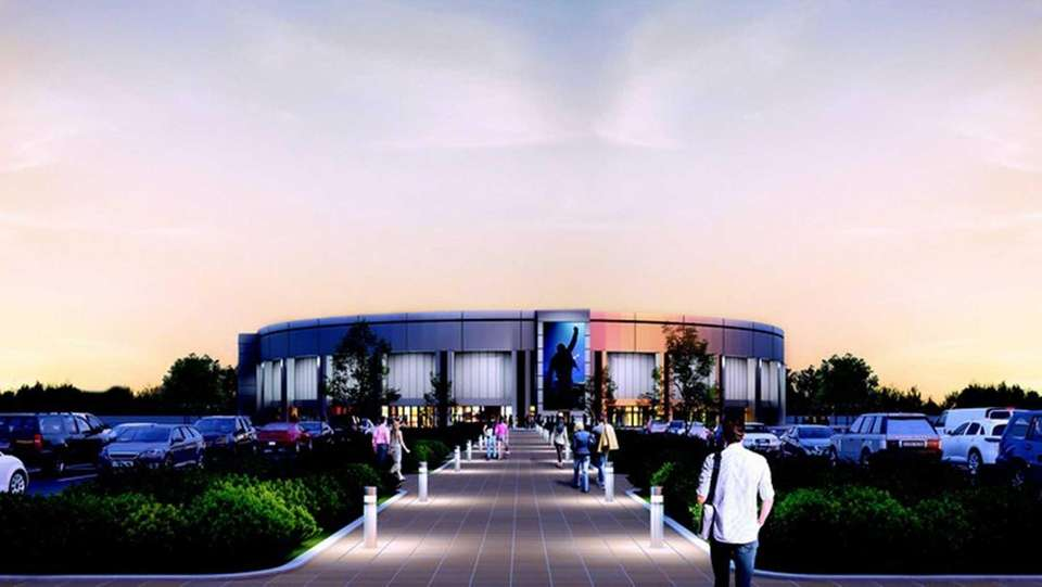 Rendering of the Madison Square Garden Company's proposal