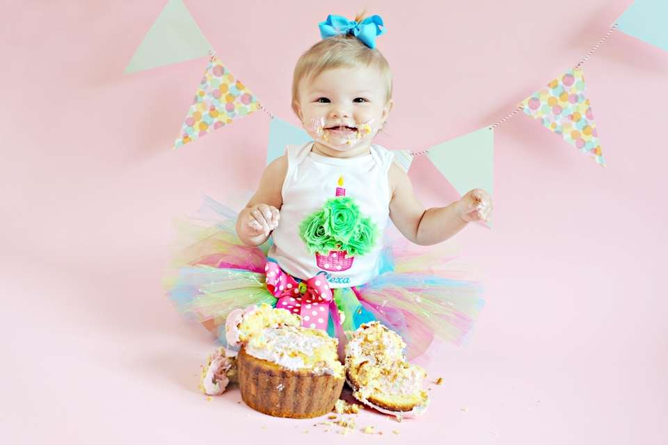 Alexa's 1st Birthday Cake Smash