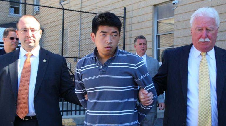 Renhang Qiu, 22, of Brooklyn, has been charged