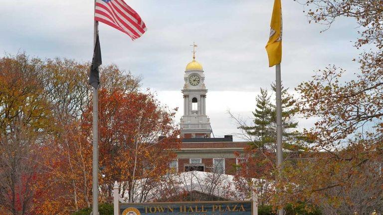 Hempstead Town Hall at 1 Washington St. in