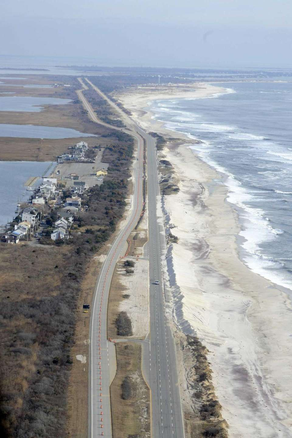 OCEAN PARKWAY EXTENSION, FIRE ISLAND Master builder Robert