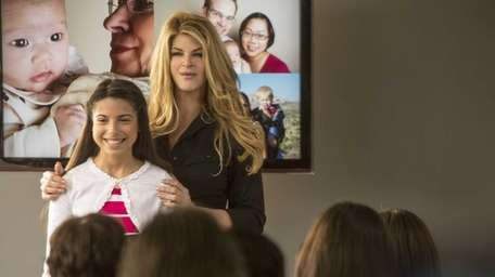 Kirstie Alley and Corale Knowles star as Carla