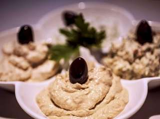 Ethos in Greak Neck served pikilia, a platter