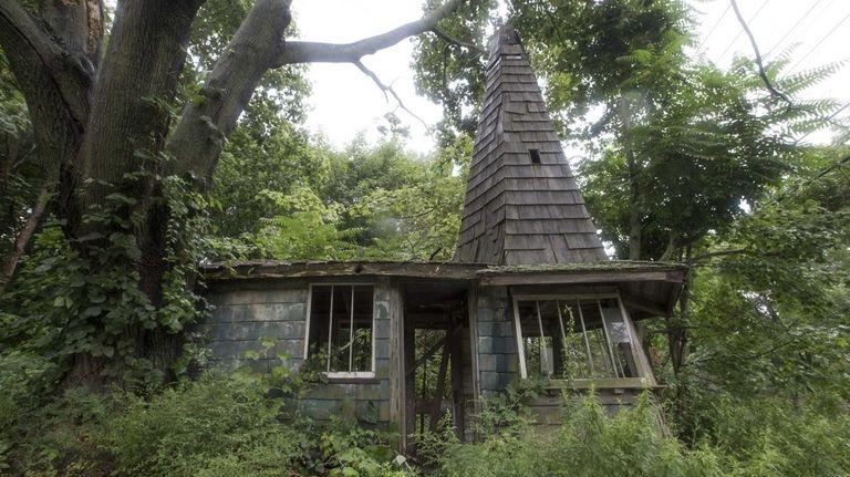 Witch's Hat, a town-designated landmark in Aquebogue. (Aug.