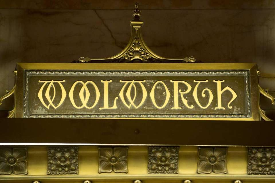 Detail in the lobby of the Woolworth Building