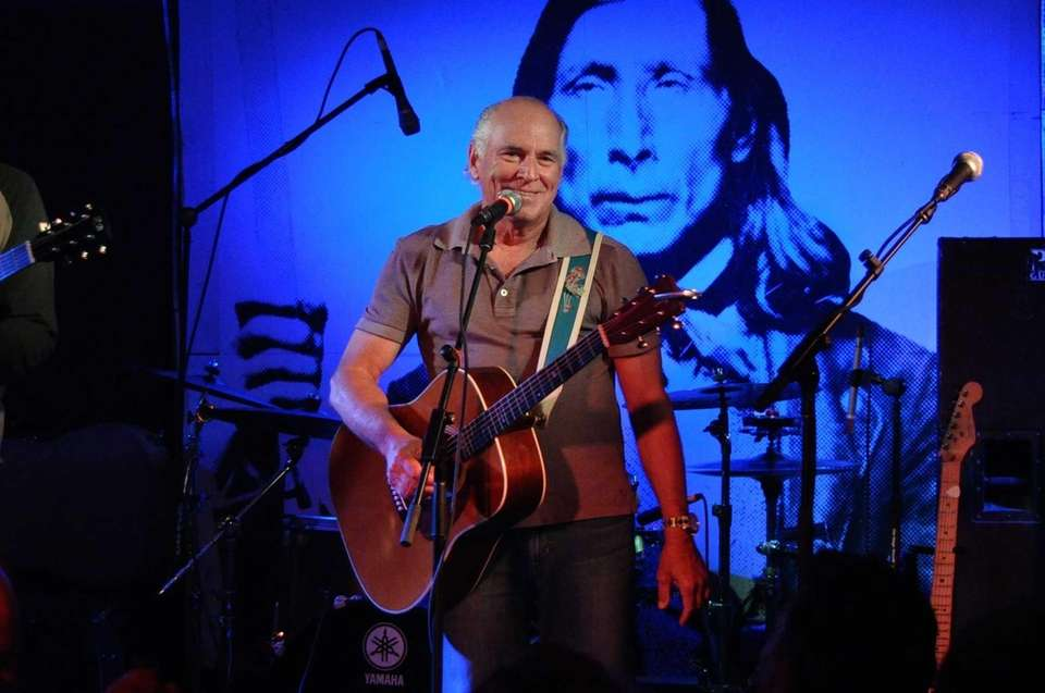 Jimmy Buffett performs at the Stephen Talkhouse in