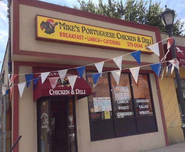 Mike's Portuguese Chicken & Deli specializes in chicken