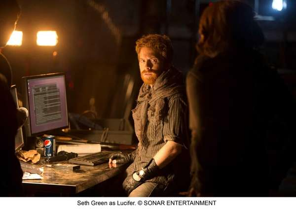 Seth Green stars as a hacker trying to