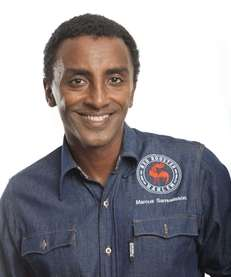 Celeb chef Marcus Samuelsson will help 100 parents