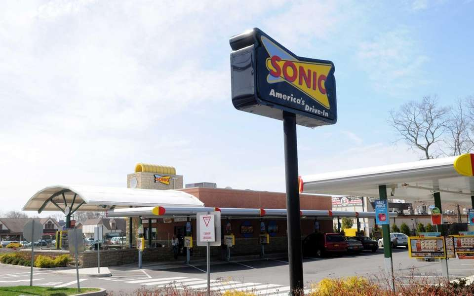 Long Island's only Sonic location opened in 2011