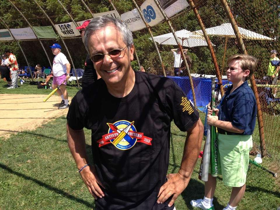 Mike Lupica turns out for the East Hampton