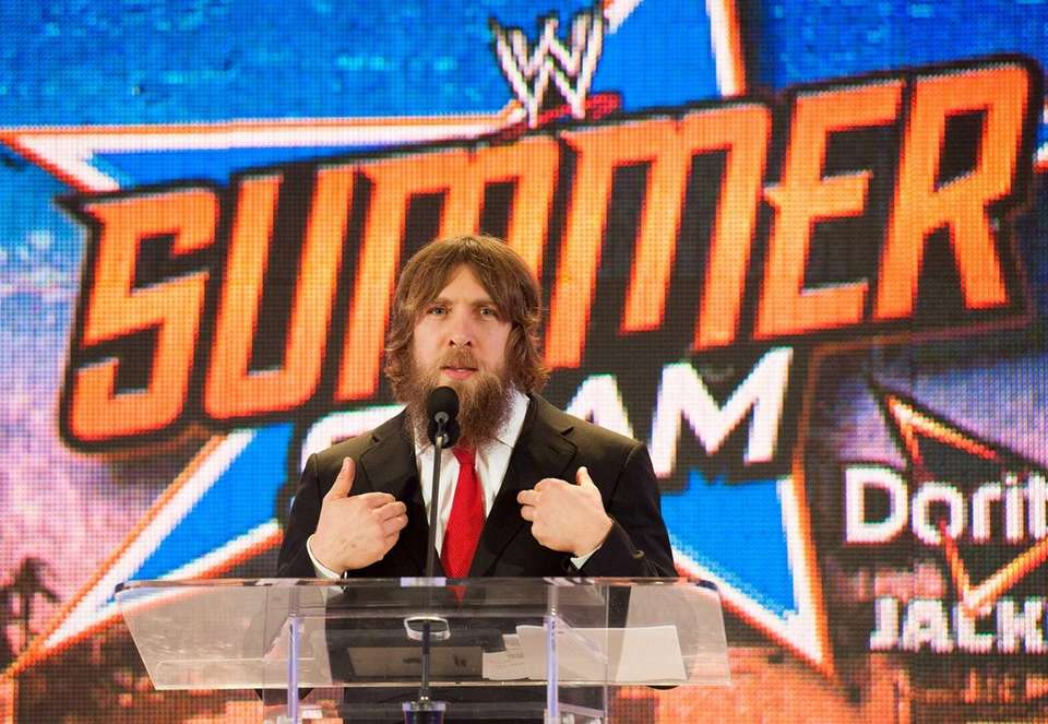 Daniel Bryan attends WWE SummerSlam Press Conference at