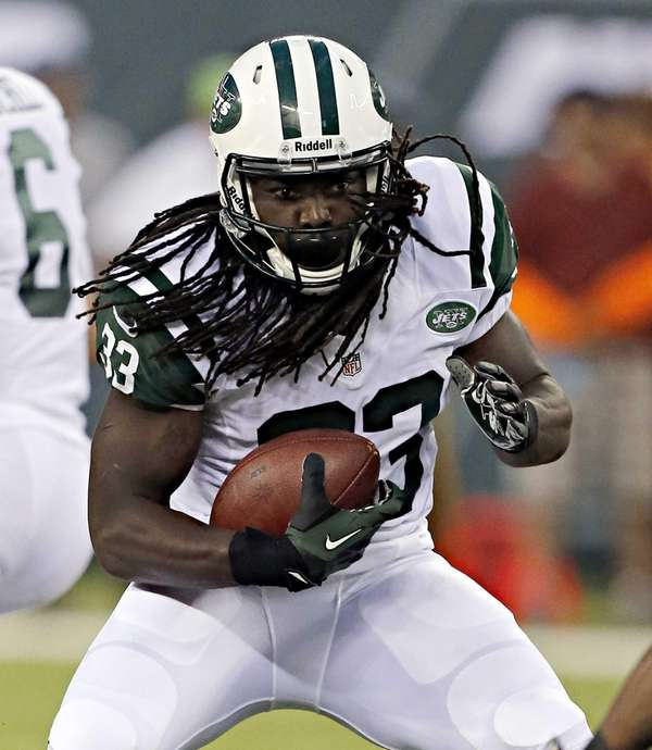 Jets running back Chris Ivory breaks through to
