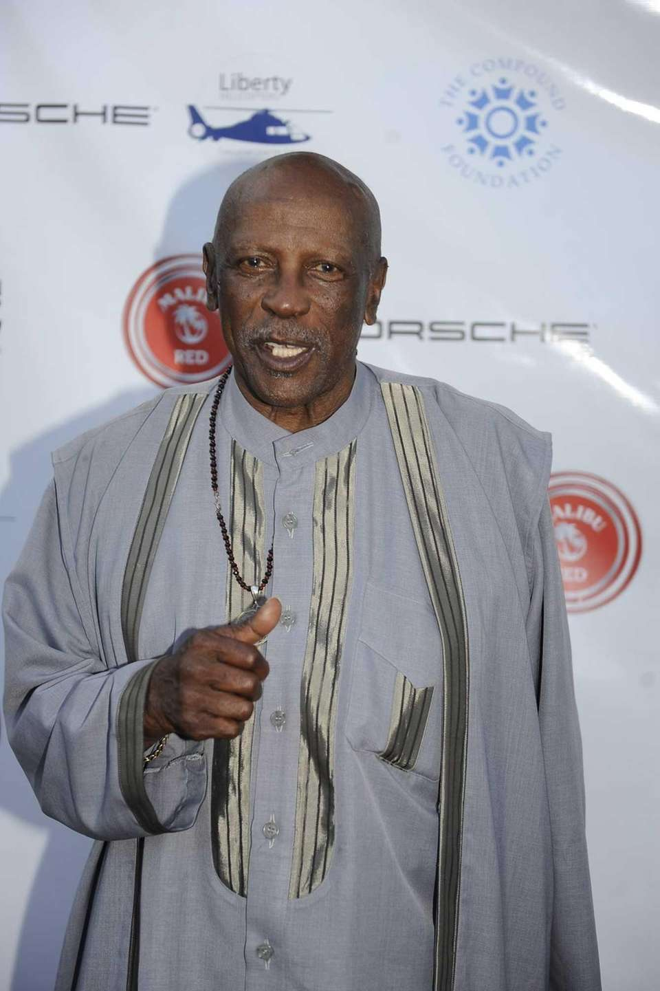 Actor Louis Gossett Jr. was honored at The
