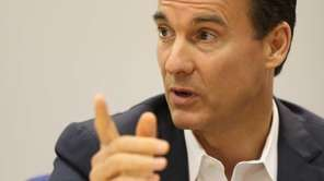 Tom Suozzi, a Democrat running for Nassau County