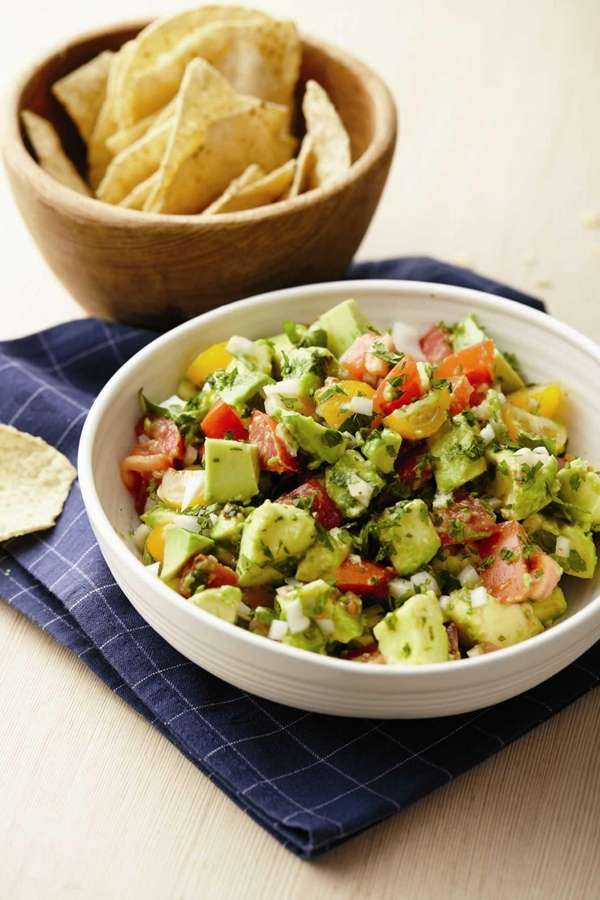 The Kewl Chopped Guacamole Salad recipe can be