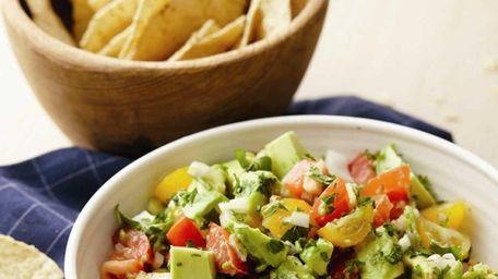 The Kewl Chopped Guacamole Salad recipe can be