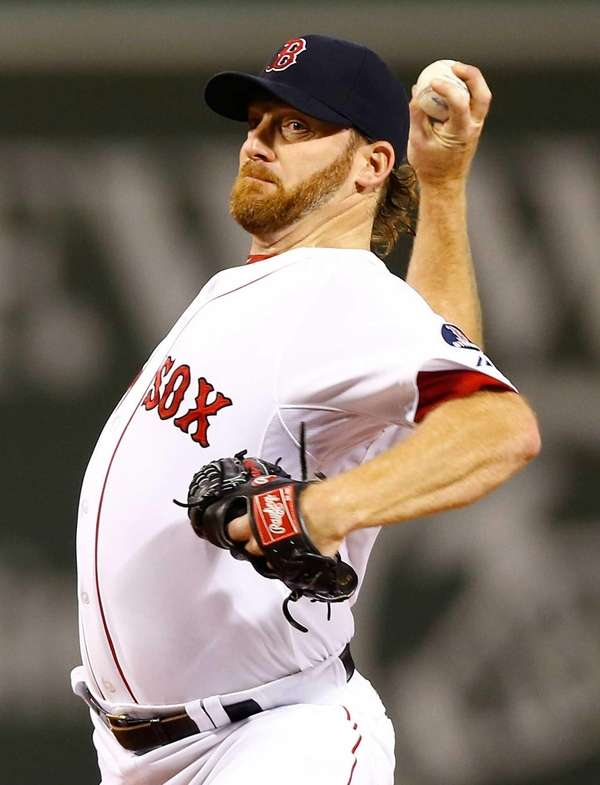 Ryan Dempster #46 of the Boston Red Sox